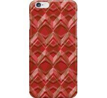 Red Seamless Pattern Art Design  iPhone Case/Skin