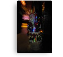 Warp speed for Santa Canvas Print