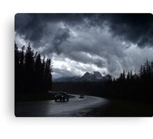Kootenay Crossing(2) Canvas Print