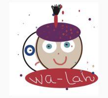 WALAH MASTER ABSTRACT ART Kids Clothes