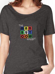 ManBuyCow Rubix Tee Women's Relaxed Fit T-Shirt