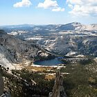 View of Cathedral Lake and Eichorn Pinnacle by SometimesSilent