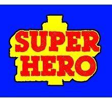 SUPER HERO  Photographic Print