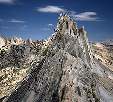 Climber on Matthes Crest by SometimesSilent
