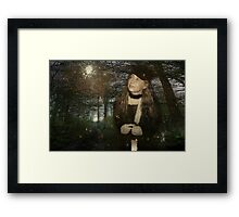 Walk With Me Through the Enchanted Forest... Framed Print