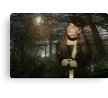 Walk With Me Through the Enchanted Forest... Canvas Print