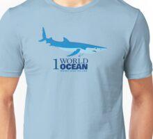 1 World Ocean - Blue Shark Unisex T-Shirt