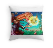 comission Throw Pillow