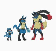 Lucario Kids Clothes