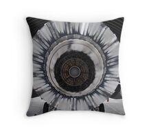 Fighting Falcon, back stage. Throw Pillow