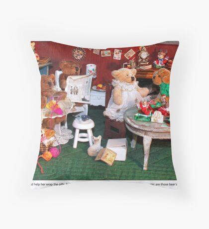 Matilda's Beau Throw Pillow