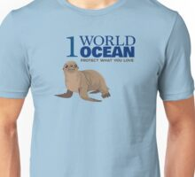 1 World Ocean - Sea Lion Unisex T-Shirt