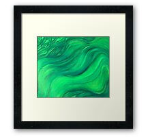 EARTH - The Flow Framed Print