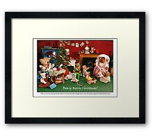 Hilda's Holiday Surprise Framed Print