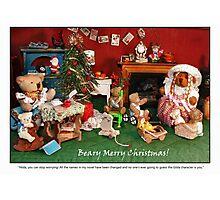 Hilda's Holiday Surprise Photographic Print