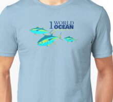 1 World Ocean - Yellowfin Tuna Unisex T-Shirt