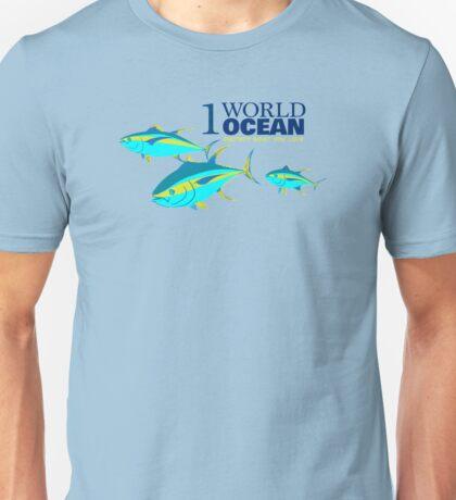 1 World Ocean - Yellowfin Tuna Unisex T-Shirt