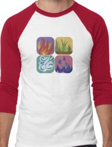 elements, once again Men's Baseball ¾ T-Shirt