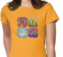 elements, once again Womens Fitted T-Shirt