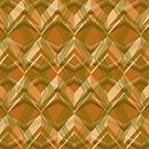 Line Brown Pattern  by elangkarosingo
