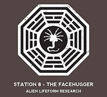 Station 8 - The Facehugger by sebisghosts