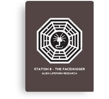 Station 8 - The Facehugger Canvas Print