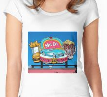 Mr. D'z Women's Fitted Scoop T-Shirt