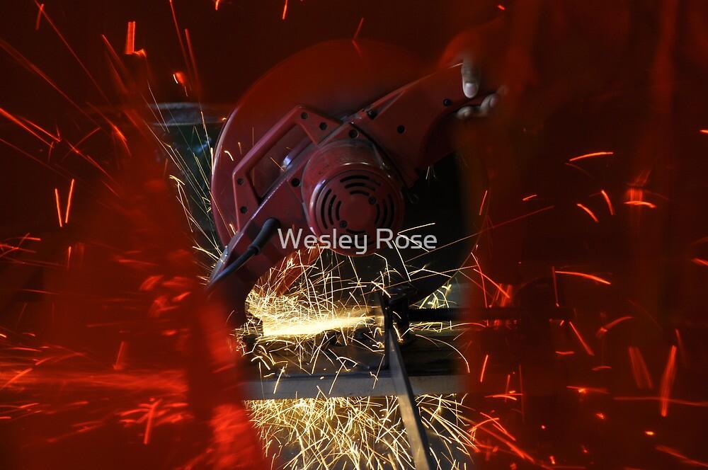 Sparks Flying by Wesley Rose