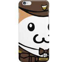 Cute Cat Guard iPhone Case/Skin