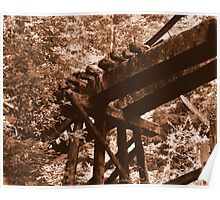 Death Of A Trestle Poster