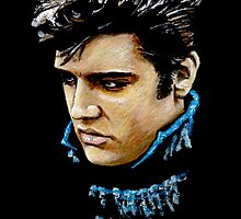 ELVIS PRESLEY - Baby, I Don't Care by Rik Berry