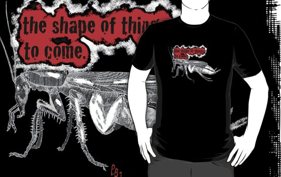Shape of Things to Come Roach TEE by Pete Janes