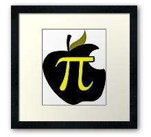Math - Apple Pi Framed Print
