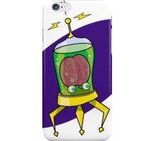 Aux, the Brain in a Jar iPhone Case/Skin