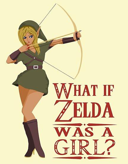 What if Zelda was a girl? (it's a joke) by NeleVdM