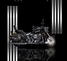 Motorbike Stylish Birthday Card by Moonlake