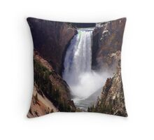 Lower Falls Throw Pillow