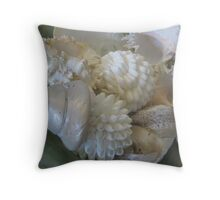 TURBAN & BALL'S OF SHELLS  Throw Pillow