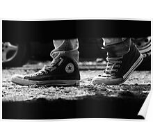 These boots were made for walking Poster