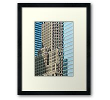 The Heart of Manhattan Framed Print