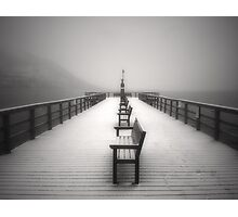 The Winter Pier Photographic Print