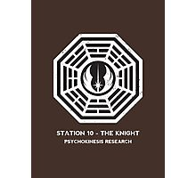 Station 10 - The Knight Photographic Print
