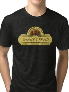 Almost Heroes - Snakes Bend Trading Post Tri-blend T-Shirt