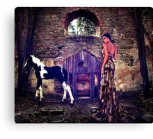 High Fashion Haute Couture Fine Art Print Canvas Print