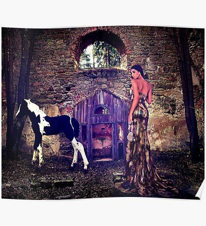 High Fashion Haute Couture Fine Art Print Poster
