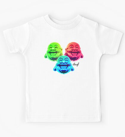 Buddha Laugh Kids Tee