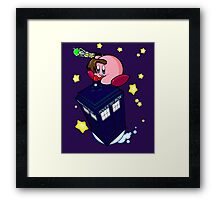 The new Doctor is here! Framed Print