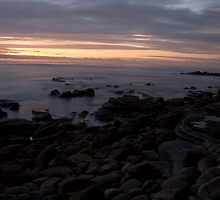 Dusk at Garbage Beach So Cal by JosephClayton