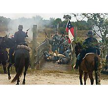 Bridge fight Photographic Print