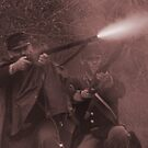 Fire!! sepia by Larry  Grayam